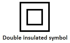 Double -insulated -symbol
